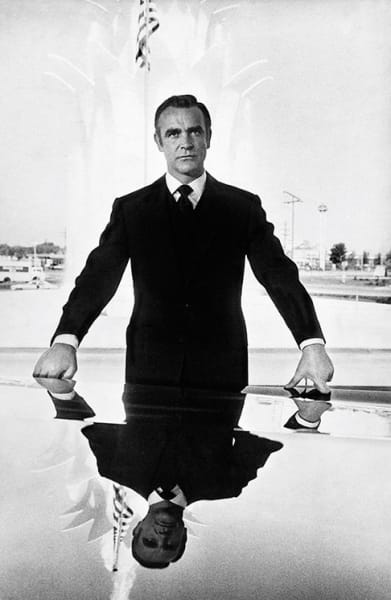 Sean Connery as Bond, 1971