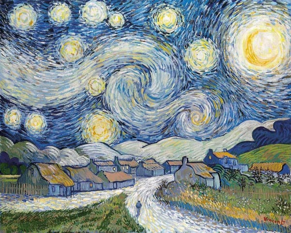 Starry Night , 2008