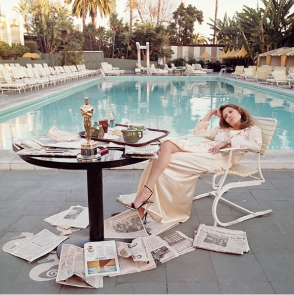 Terry O'Neill, Faye Dunaway, 1977 - LIGHT BOX