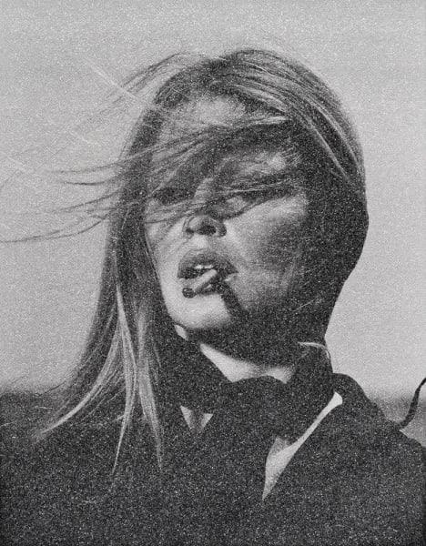Bardot with Cigar