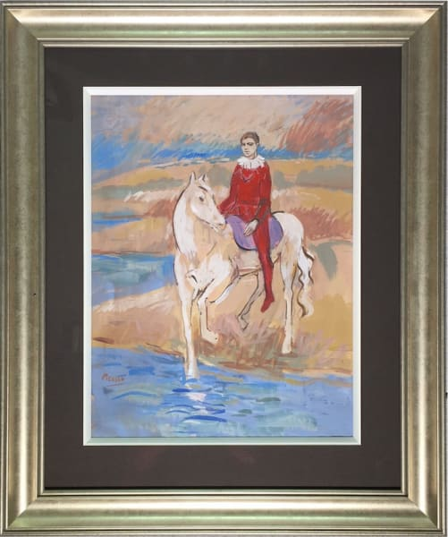 Harlequin On Horse - Original