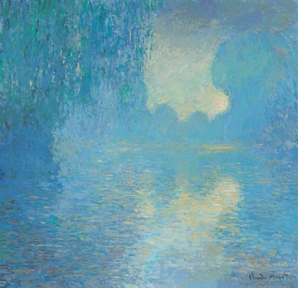 Morning on the Seine, Pale Blue Effect