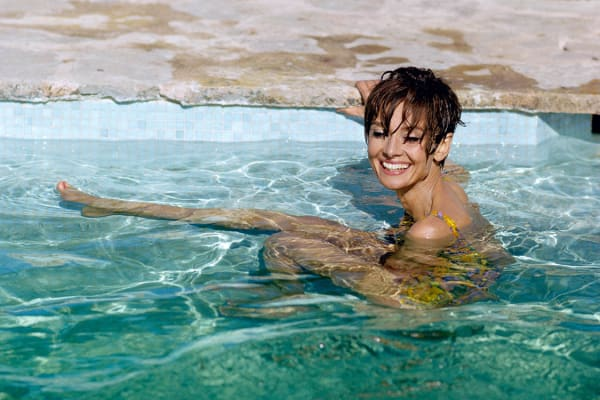 Audrey Swims, 1966