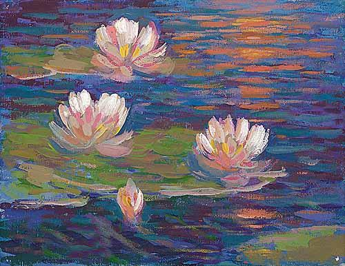 Giverny Reflections III