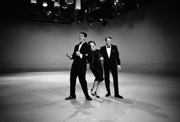 Dean Martin, Judy Garland and Frank Sinatra, 1961