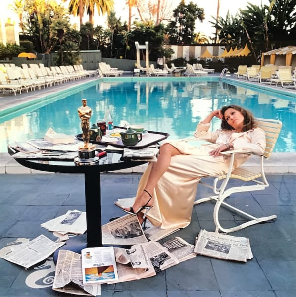 Faye Dunaway, 1977 - LIGHT BOX