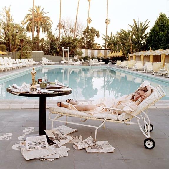 Terry O'Neill, Faye Dunaway (outtake FD013), 1977