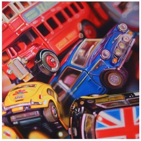 Mini Britain - Original - POA