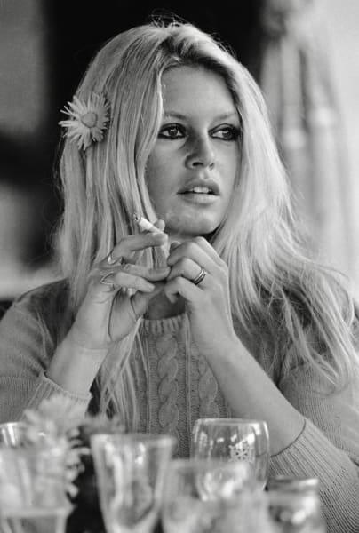 Brigitte Bardot (Shalako) - co-signed print, 1968