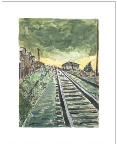 Train Tracks (green), 2010