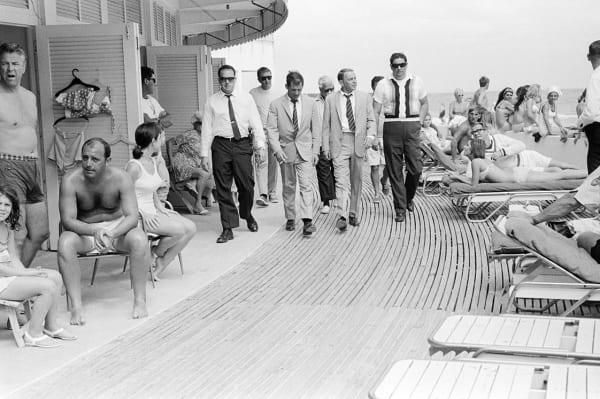 Frank Sinatra on the boardwalk (view 2), 1968