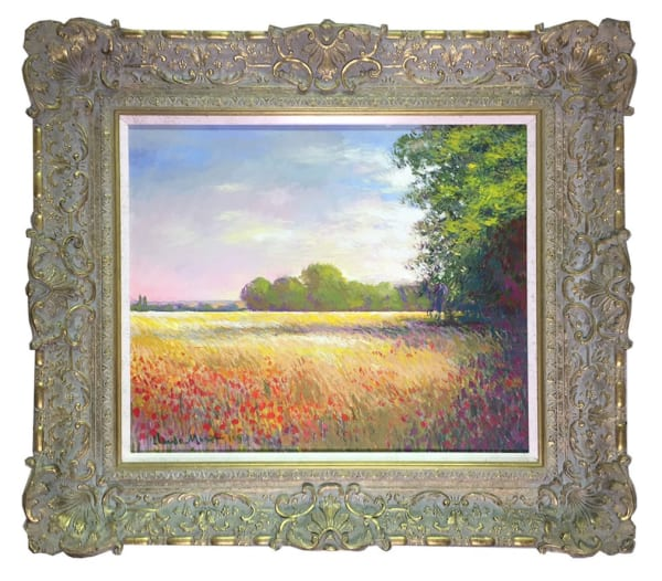 Oatfields near Giverny - Original, 2006