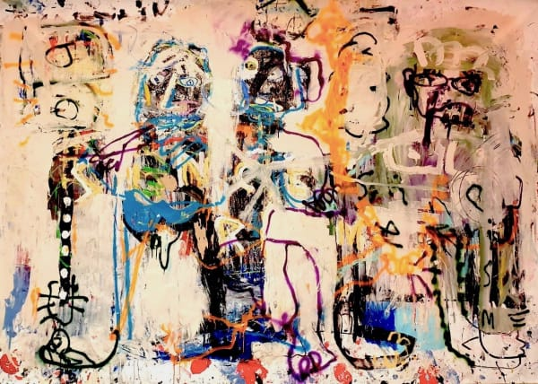 The Buskers (collaboration with Monsieur Jamin, Paris), 2020