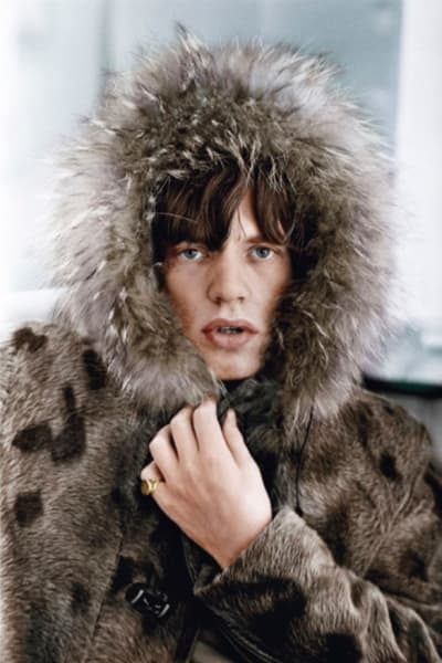 Mick's Parka, colourised