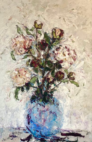 Peonies with Buds, 2021