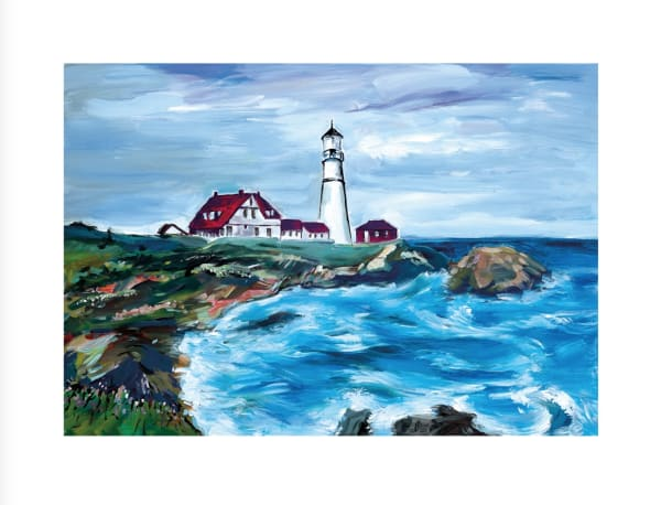 Lighthouse in Maine, 2017