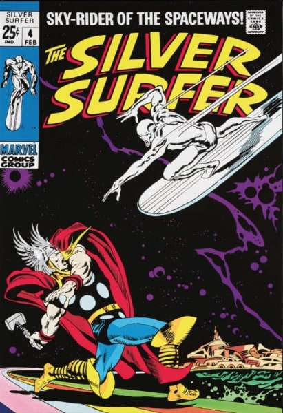 The Silver Surfer #4, 2013