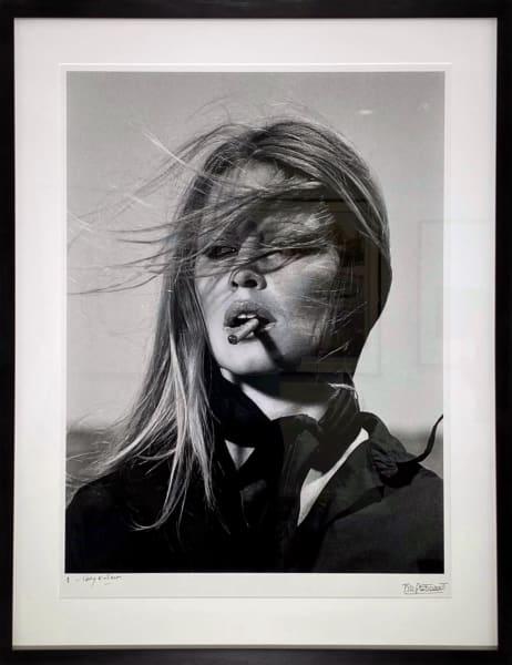 Brigitte Bardot - co-signed print, 1971