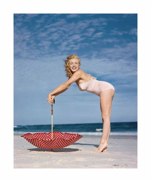 Edward Weston Collection - Polka Dot Umbrella, Tobay Beach, 1949