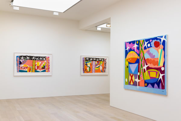 Roberts Auto Mall >> Gillian Ayres | Paintings and Woodcuts | Alan Cristea Gallery