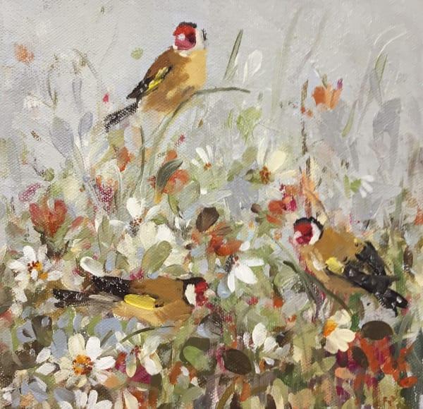 Fletcher Prentice, 'Goldfinches'