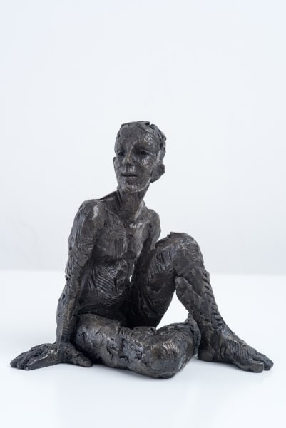 Carol Peace, Seated Male Figure 2