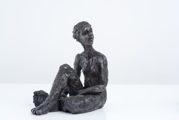 Carol Peace, Seated Female Figure 2