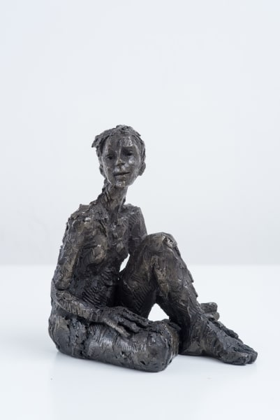 Carol Peace, Seated Female Figure 1