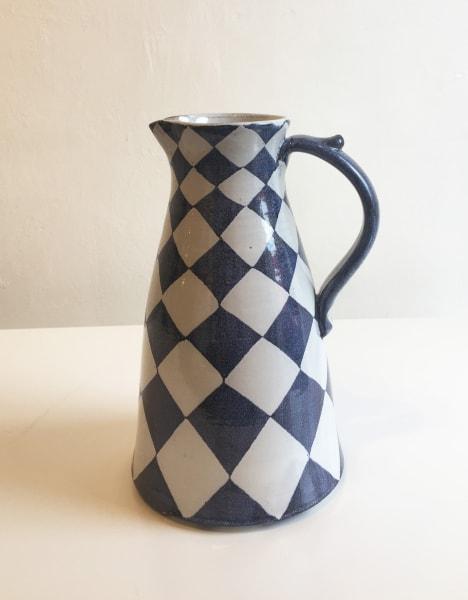 Checkerboard, Tall Jug