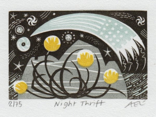 Angie Lewin, Night Thrift