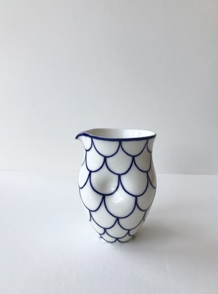 Rhian Malin, Scalloped Round Dimple Jug, Small