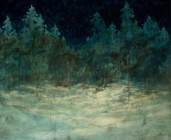 Daniel Ablitt, Peaceful Place (By The Fire), 2019
