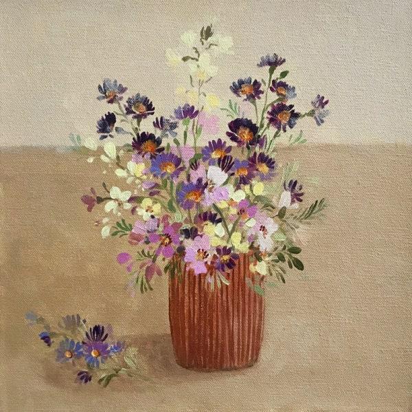 Fletcher Prentice, Late Summer Flowers, 2019