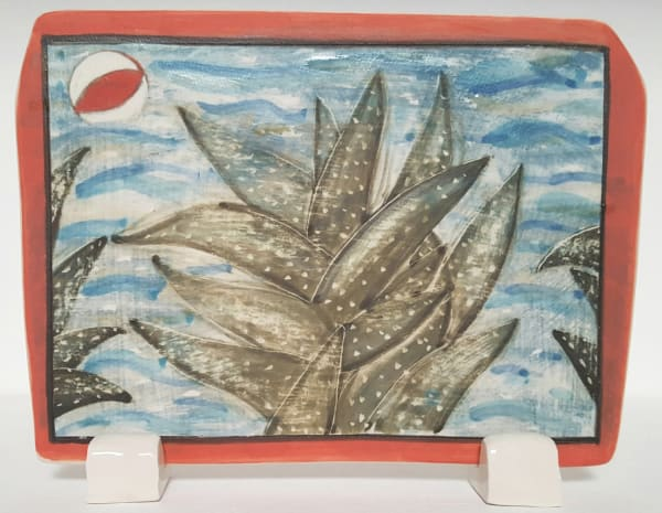 Clare Nicholls, Seaside Plant (Beach Ball), 2020