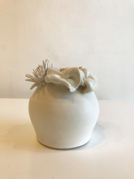 Emma Jagare, Small Flower Vase (Petals and Coral), 2018