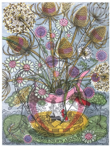 Angie Lewin, The Gardener's Arms
