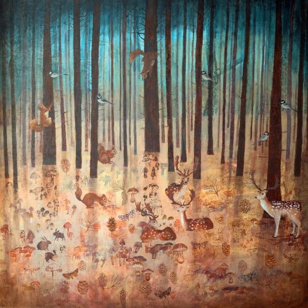 Dawn Stacey, Woodland Mist