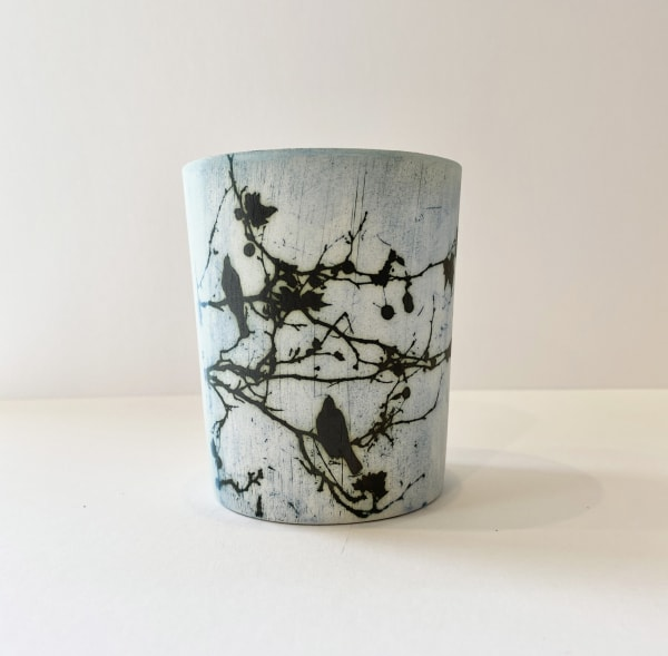 Kit Anderson, Birds in the Trees, Medium vase