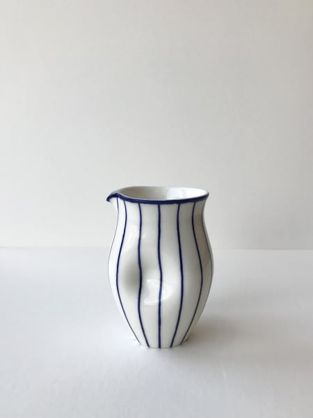 Rhian Malin, Linear Round Dimple Jug, Small