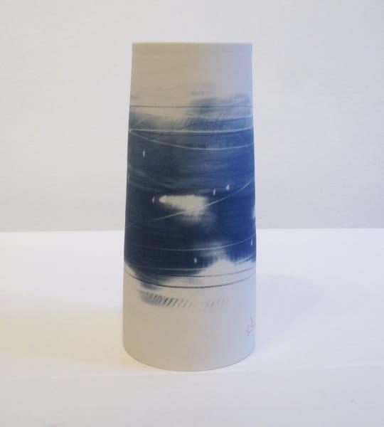 Medium Vase - Blue Grey