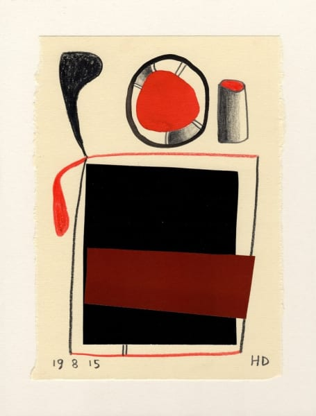 Henrietta Dubrey, Fifty Drawings II No.14, 2015