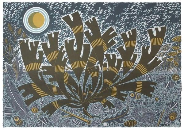 Angie Lewin, Saltmarsh Storm II