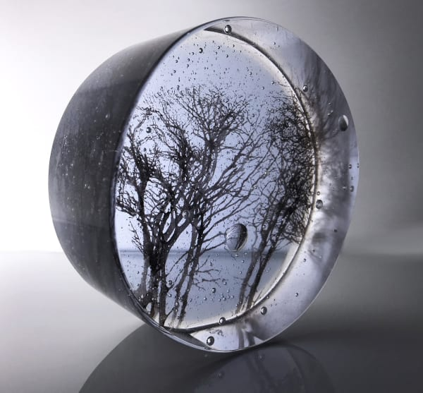 Helen Slater, Winter Branches, Lavender and Sepia