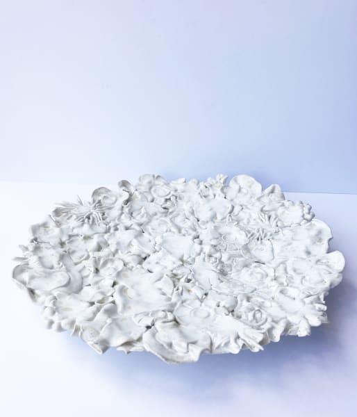 Emma Jagare, Pressed Flowers Platter, 2019