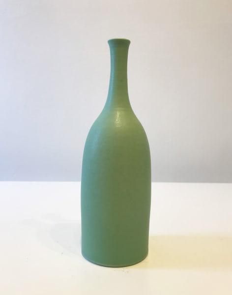 Mint Green Vessel, Small Bottle