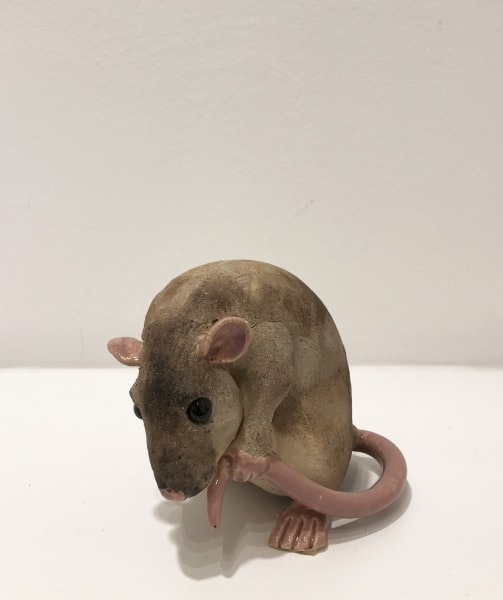Virginia Dowe Edwards, Rat (Holding Tail)