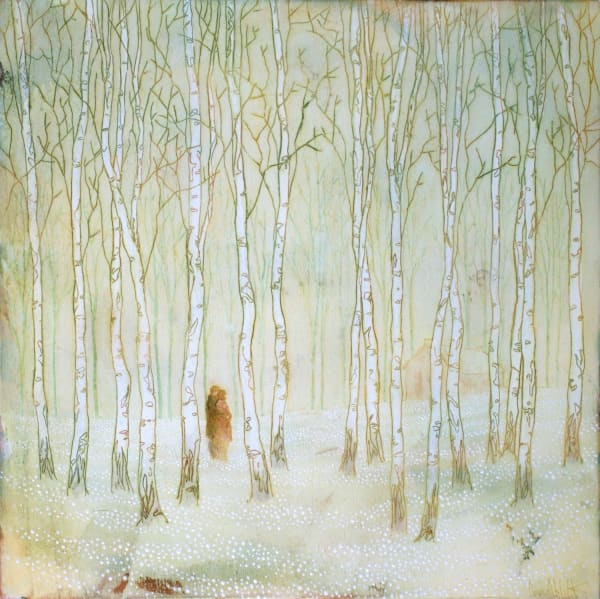 Daniel Ablitt, Woodland Retreat, Study, 2019