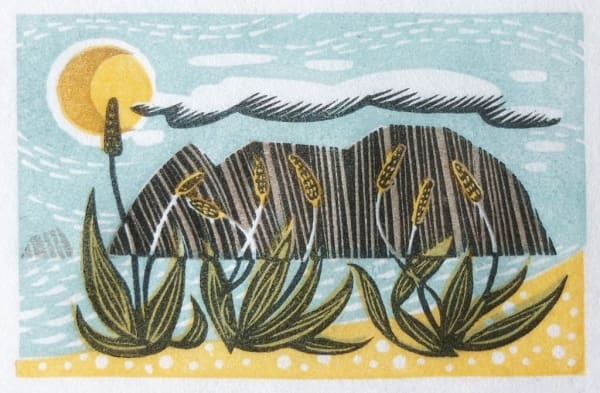 Angie Lewin, Sea Plantain