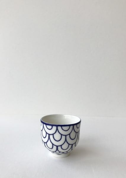 Rhian Malin, Double Scalloped Teacup, Small