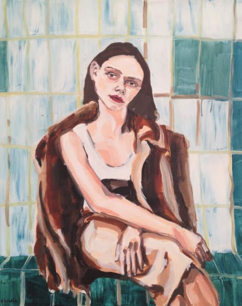 Veronica Wells, Bathroom Confidant, 2018